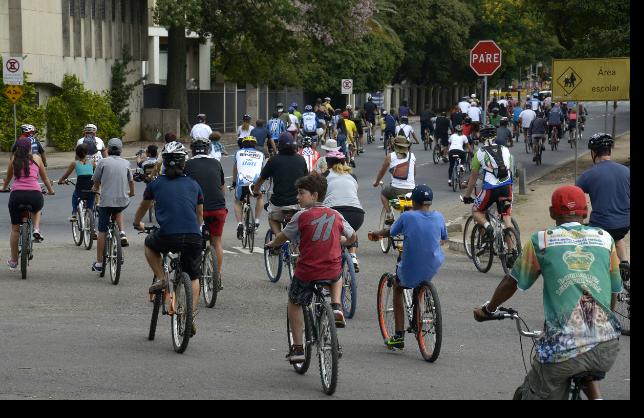 Passeio Ciclístico com saída no Largo Francisco Brochado (Parque Farroupilha)