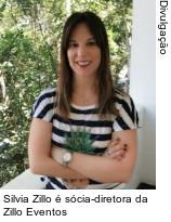 Silvia Zillo é sócia-diretora da Zillo Eventos